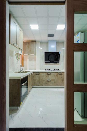 10-15万90平米美式风格厨房装修案例