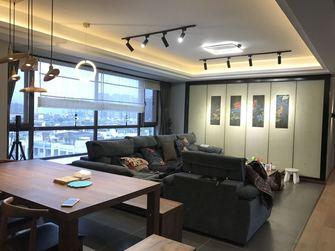 140平米四室两厅工业风风格客厅图片大全