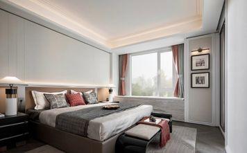 140平米三室一厅中式风格卧室图片大全