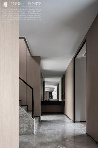富裕型140平米复式现代简约风格楼梯间效果图