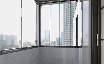 5-10万80平米北欧风格阳台装修图片大全