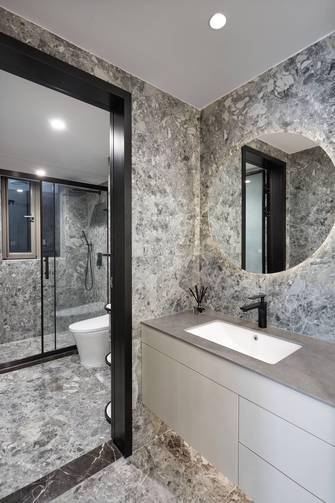100平米三室两厅混搭风格卫生间欣赏图