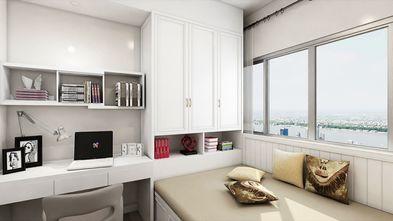80平米现代简约风格卧室图