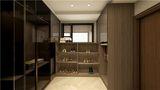 10-15万110平米三室一厅英伦风格衣帽间装修案例