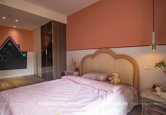 20万以上120平米三室两厅现代简约风格青少年房欣赏图