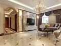 20万以上120平米三室三厅欧式风格客厅装修案例