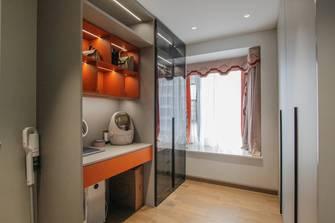 10-15万120平米三室一厅现代简约风格衣帽间设计图