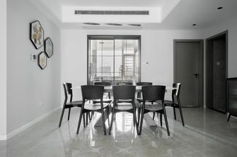 140平米复式现代简约风格餐厅图片