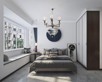 120平米三室三厅中式风格卧室装修图片大全