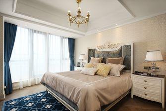 富裕型100平米三室两厅欧式风格卧室效果图