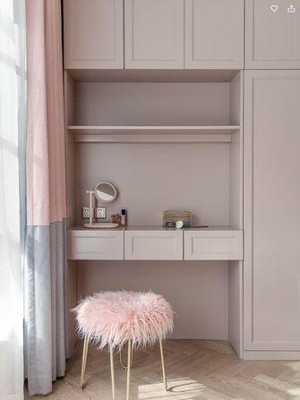 富裕型110平米三室两厅欧式风格梳妆台图片