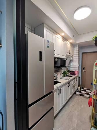 5-10万50平米公寓轻奢风格厨房装修图片大全