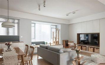 经济型90平米三室两厅田园风格客厅图片大全