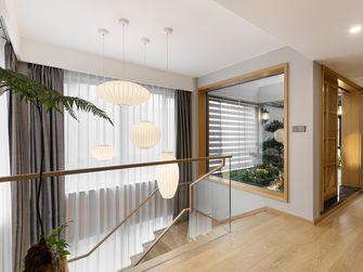 140平米复式日式风格楼梯间欣赏图