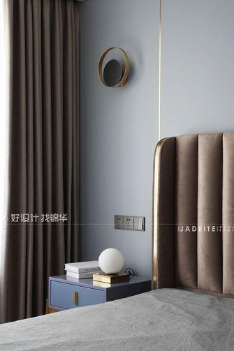 豪华型120平米三室一厅现代简约风格卧室设计图