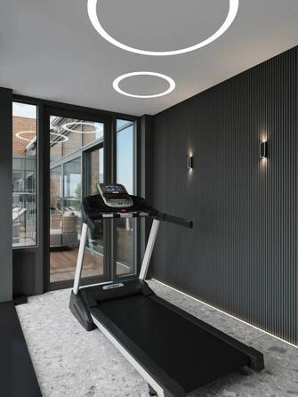 豪华型140平米三室两厅现代简约风格阳光房装修案例