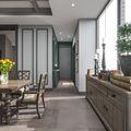 富裕型120平米三室两厅法式风格厨房效果图