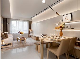 富裕型100平米三室一厅日式风格餐厅设计图