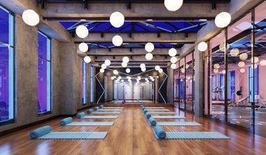 经济型140平米公装风格健身房图片大全