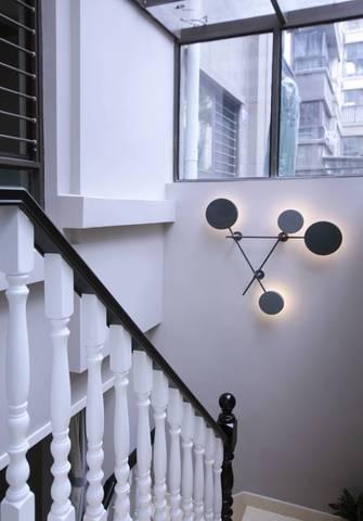 豪华型140平米三北欧风格走廊欣赏图