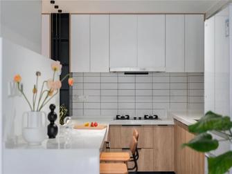 5-10万120平米三室两厅日式风格厨房装修案例