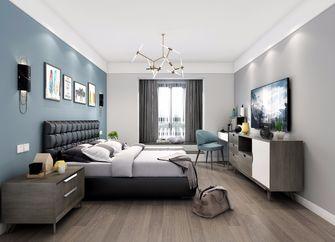 富裕型一室一厅北欧风格卧室欣赏图
