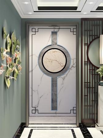 富裕型140平米三室一厅中式风格玄关效果图
