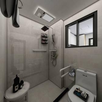 5-10万30平米小户型混搭风格卫生间设计图