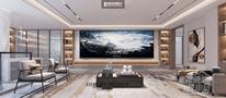20万以上140平米复式中式风格影音室装修效果图