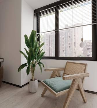 15-20万130平米三室两厅现代简约风格阳台欣赏图