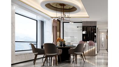 15-20万140平米复式现代简约风格餐厅装修图片大全