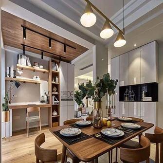 140平米三室一厅北欧风格餐厅装修效果图