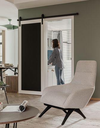3万以下130平米三室两厅现代简约风格客厅装修效果图