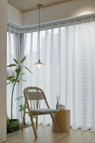 富裕型80平米三室两厅日式风格阳台效果图