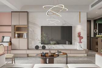 经济型60平米公寓现代简约风格客厅装修案例