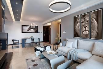 豪华型120平米三室一厅北欧风格客厅欣赏图