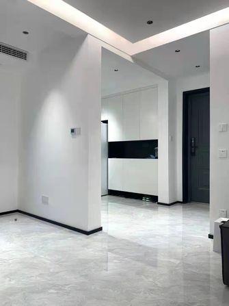 富裕型90平米现代简约风格客厅效果图