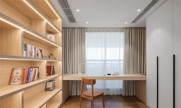 富裕型90平米三室三厅北欧风格书房效果图