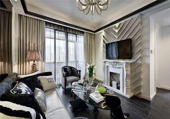 富裕型70平米公寓欧式风格客厅图片