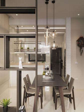 60平米一居室工业风风格客厅设计图