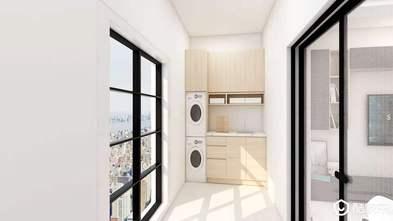富裕型80平米三室两厅现代简约风格阳台图片