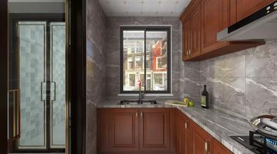 20万以上140平米三室一厅中式风格厨房装修图片大全