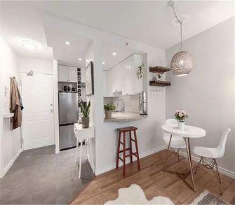 经济型60平米一室两厅现代简约风格餐厅装修图片大全