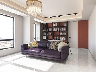 富裕型90平米一室两厅北欧风格客厅图片