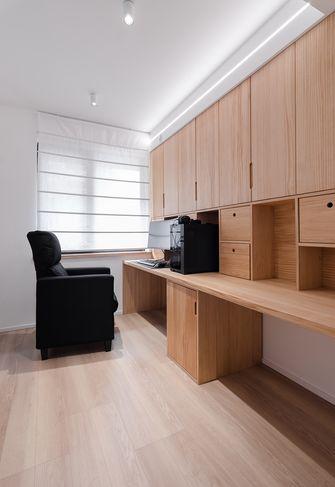 5-10万120平米三室两厅日式风格书房欣赏图