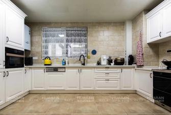140平米复式美式风格厨房图片大全