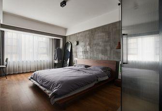 豪华型110平米三室两厅工业风风格卧室装修图片大全