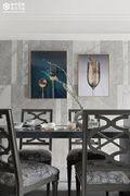 豪华型140平米四室一厅美式风格餐厅装修案例