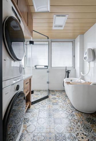 15-20万140平米三室两厅日式风格卫生间欣赏图
