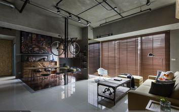 富裕型120平米三室一厅工业风风格客厅装修图片大全
